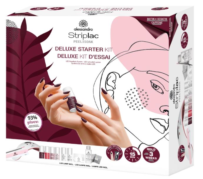 Alessandro Striplac Peel or Soak International Starter Kit Deluxe