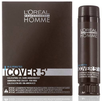 LOreal Professionnel Homme Cover 5 No 6 dunkelblond 50ml